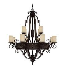 capital lighting 3602ri 125 river crest 12 light 48 inch rustic iron chandelier ceiling light