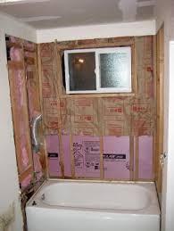re tiling bathroom floor. Re-tiling A Tub Surround: Add Insulation Before Backerboard Re Tiling Bathroom Floor G