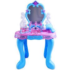Beauty 2018 new Disney girls 3-5-6 years old play dresser toys children simulation cosmetics music makeup box set Christmas 3 5 6