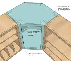 Ana White Build A Wall Kitchen Corner Cabinet Free And Easy Diy