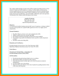 Sample Resume For Cna 7 8 Nurse Assistant Duties Resume Cover Letter