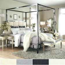 Chrome Canopy Bed Overstock Canopy Bed Twin Chrome Pace Chrome ...