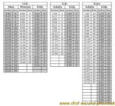 New Balance Uk Shoe Size Chart Dvd Wizard Pro Co Uk