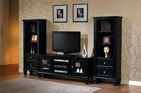 decoration marvellous black entertainment centers wall units hi res wallpaper images center with glass doors