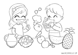 Small Picture Food Nutrition Coloring Pages Coloring Pages Coloring Home