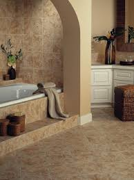 bathroom ceramic tile floor i shaped white vanity bathroom glass mosaic accent combined black white marble