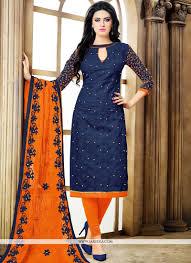 Cotton Churidar Dress Design Patterns Cotton Churidar Designer Suit