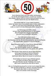 Herausragende Ideen Lustige Gedichte Zum 50 Geburtstag Mit Ganzes