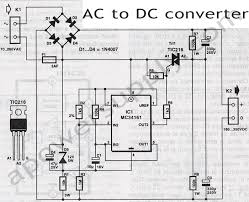 ac to dc converter ac dc converter diagram