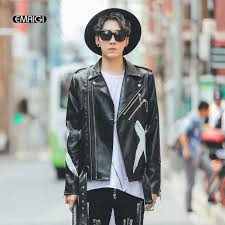 2018 whole mens leather jacket high street fashion printing hip hop casual coat male motorcycle pu leather jacket autumn winter overcoat from vanilla04