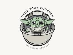Yoda Design Baby Yoda Sticker By James Pruitt On Dribbble