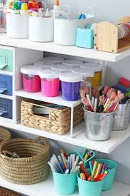 diy office storage ideas. fantastic guide for setting up your dream art space kids diy office storage ideas