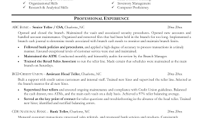 Bank Teller Resume Sample Canada This Bank Teller Resume Sample
