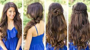 Simple Hairstyles For College Simple And Easy Hairstyles For College Simple Hairstyles For Curly