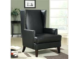 wing accent chair wingback tufted two toned wing accent chair