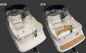 boat floor replacement materials boat flooring ideas pvc synthetic teak soft boat yacht decking ideer produkter og både