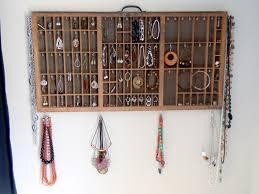 Wall Jewelry Organizer Jewelry Organizer For Wall Home