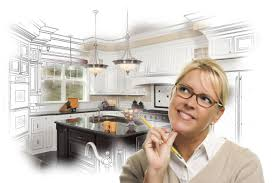 computer kitchen design. Brilliant Design Dawsonville GA Creative Woman With Pencil Over Custom Kitchen Design  Drawing And Photo Combination On In Computer N