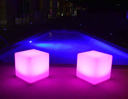 Glow Furniture Illumunated Cubes 40cm Glow Cubes Indoor And Outdoor Use Goglow