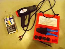 senor aguas painless wiring harness for tbi i can t explain how nice it is to have a nice crimp tool heat shrink tubing and a heat gun my heat gun is from harbor freight and it works great