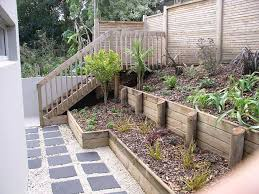 Small Picture retaining wall and staircase httpwwwpiercelandscapingconz