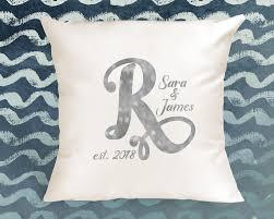 Custom Pillow Cover, Wedding pillow cover, Wedding Gift, monogram gift,  bridal gift, custom wedding gift, wedding pillow, custom pillow
