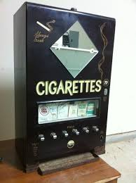 Vintage Cigarette Vending Machine Cool Pulver Chewing Gum Vending Machine 48's BACK In The DAY
