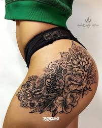 татуировки в стиле блэкворк Blackwork Rustattooru ковров