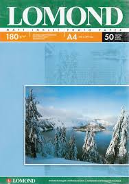 🤑 <b>Фотобумага Lomond А4 180g/m2</b> матовая односторонняя 50 ...