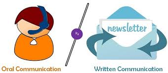difference between oral communication and written communication  oral vs written communication
