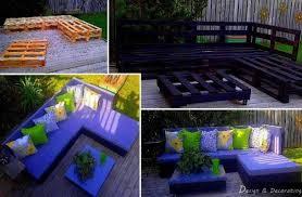 ... Outdoor Pallet Furniture DIY ideas and tutorials - diy pallet lounge