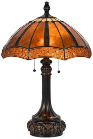 rubbed bronze and mica shade tiffany style table lamp lampsplus for best tiffany accent table