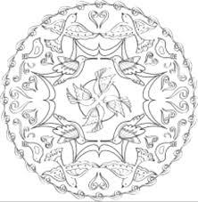 Mandala Da Colorare Animali Raccolta Disegni Da Colorare Con Mandala