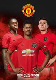 Manchester United FC - Wandkalender 2020