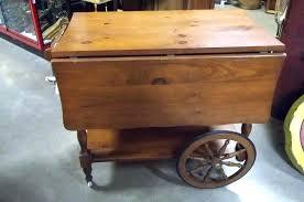 antique tea cart on wheels wooden tea cart wheels vintage tea cart with wheels