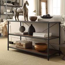 Harrison Industrial Rustic Pipe Frame TV Stand Console Table by iNSPIRE Q  Classic - Free Shipping Today - Overstock.com - 17126203