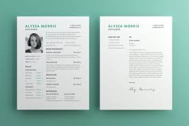 Clean Resume Cv Template Free For Illustrator Pagephilia