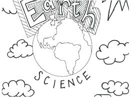Globe Coloring Page Middle School Coloring Pages Growth Mindset