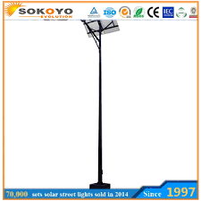 Cool White Color Temperature Led Solar Street Light Price List Solar Street Lights Price List