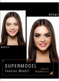 cyberlink the creator of youcam makeup yzed hundreds of supermodel makeup styles and selected