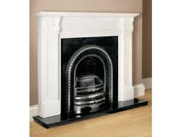 aurora acantha natural white fireplace surround with cast and granite hearth fireplace world