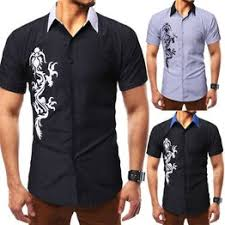 New personality men's casual summer simple fashion short ... - Vova
