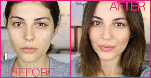 natural makeup look a step by step