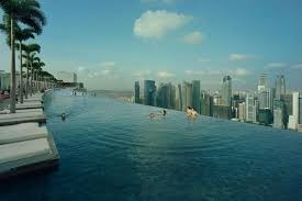 infinity pool singapore. The Infinity Pool At Marine Bay Sands In Singapore