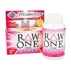 <b>VITAMIN CODE RAW ONE</b> (For Women) 75 Capsules by Garden of ...
