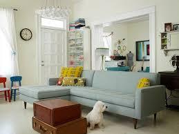 living room custom sofa eclectic living room by renewal design build