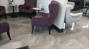 decorative epoxy flooring for hair salon mercial flooring premier concrete columbus ohio