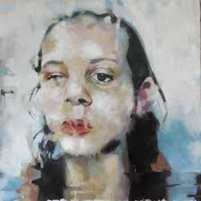 saatchi art artist thomas saliot painting kissing jenny saville s behind art