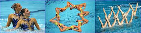 Сайт о плавании Классификация виды плавания Синхронное плавание