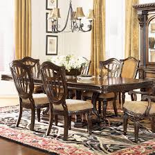 pedestal dining room table. Chic Pedestal Dining Room Table For Your Home Design: Fairmont Designs Grand Estates Double B